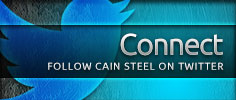 Follow Cain Steel on Twitter